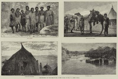 Illustrations of The Wild Tribes of the Soudan, by Mr F L James, Frgs--Giclee Print