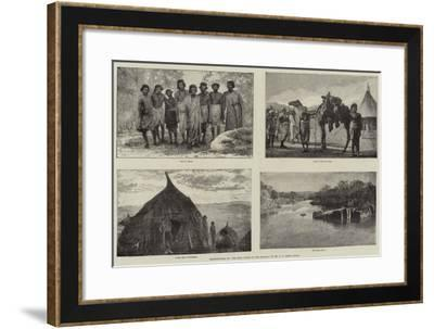 Illustrations of The Wild Tribes of the Soudan, by Mr F L James, Frgs--Framed Giclee Print