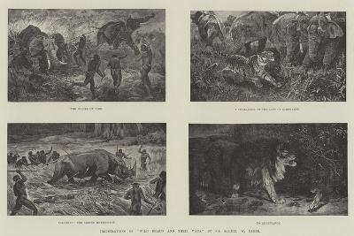 Illustrations of Wild Beasts and their Ways, by Sir Samuel W Baker--Giclee Print