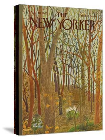 The New Yorker Cover - April 10, 1965