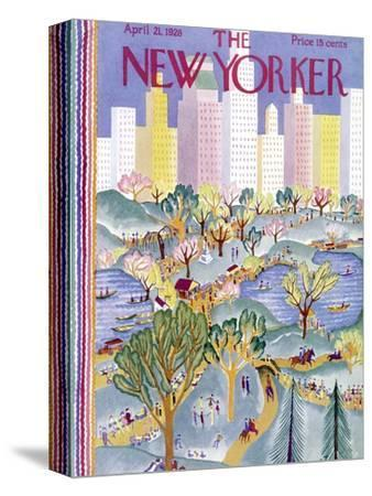 The New Yorker Cover - April 21, 1928