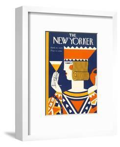 The New Yorker Cover - April 25, 1925 by Ilonka Karasz