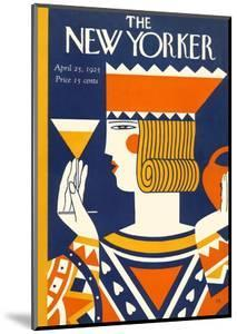 The New Yorker Cover - April 25, 1925 by Ilonka Karasz