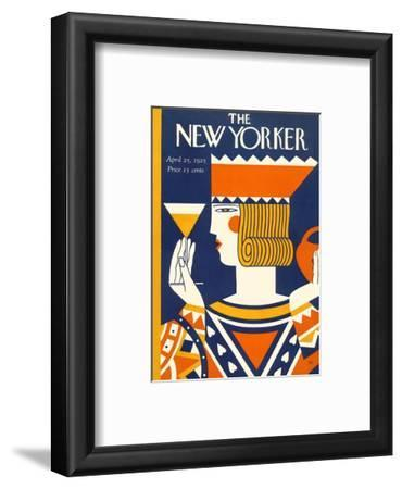 The New Yorker Cover - April 25, 1925