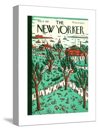 The New Yorker Cover - August 14, 1926