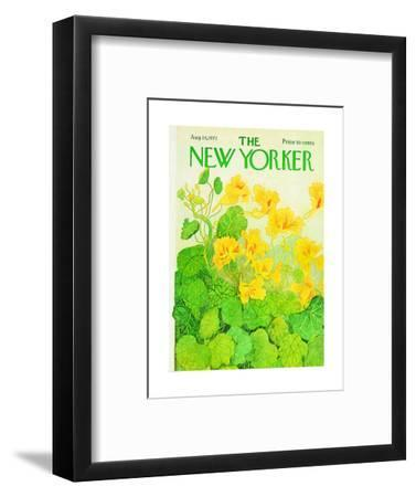 The New Yorker Cover - August 14, 1971
