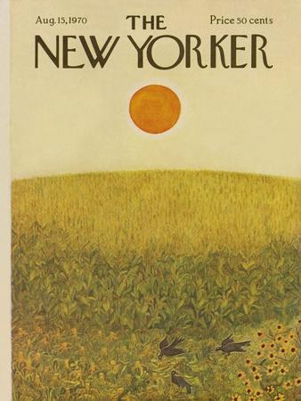 The New Yorker Cover - August 15, 1970