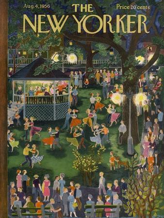 The New Yorker Cover - August 4, 1956