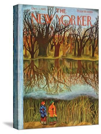 The New Yorker Cover - December 1, 1945