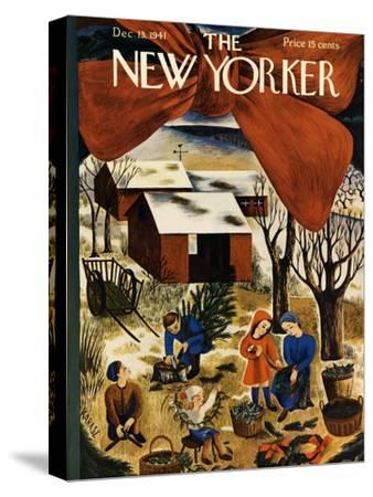The New Yorker Cover - December 13, 1941