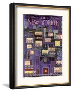 The New Yorker Cover - December 16, 1961 by Ilonka Karasz