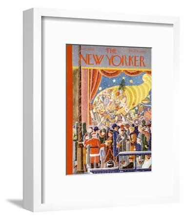 The New Yorker Cover - December 9, 1933