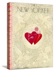 The New Yorker Cover - February 16, 1952 by Ilonka Karasz