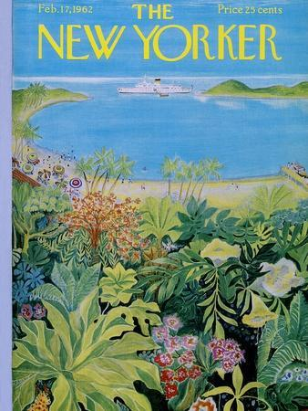 The New Yorker Cover - February 17, 1962