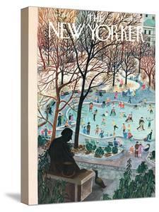 The New Yorker Cover - February 4, 1961 by Ilonka Karasz