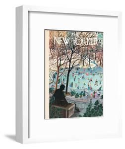 The New Yorker Cover - February 4, 1961 by Ilonka Karasz