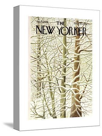 The New Yorker Cover - January 29, 1966