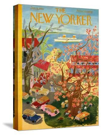 The New Yorker Cover - January 8, 1955
