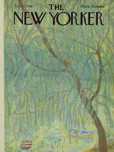 The New Yorker Cover - July 15, 1967 by Ilonka Karasz