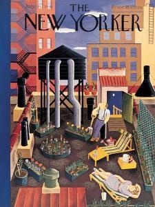 The New Yorker Cover - July 19, 1941 by Ilonka Karasz