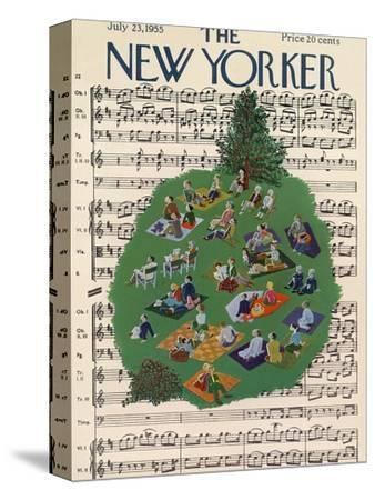 The New Yorker Cover - July 23, 1955
