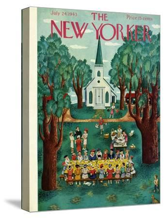 The New Yorker Cover - July 24, 1943