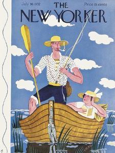 The New Yorker Cover - July 30, 1932 by Ilonka Karasz