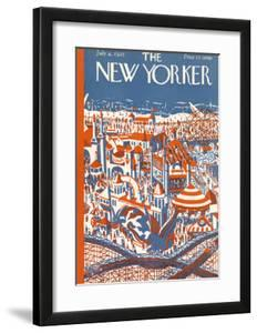 The New Yorker Cover - July 4, 1925 by Ilonka Karasz