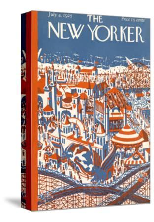 The New Yorker Cover - July 4, 1925