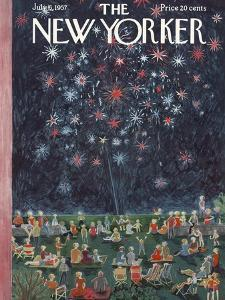 The New Yorker Cover - July 6, 1957 by Ilonka Karasz