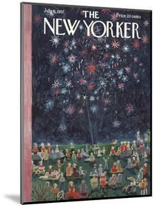The New Yorker Cover - July 6, 1957 by Ilonka Karasz