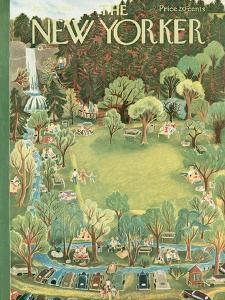 The New Yorker Cover - June 27, 1953 by Ilonka Karasz