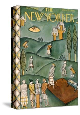 The New Yorker Cover - June 9, 1928