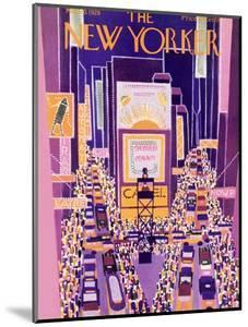 The New Yorker Cover - March 10, 1928 by Ilonka Karasz