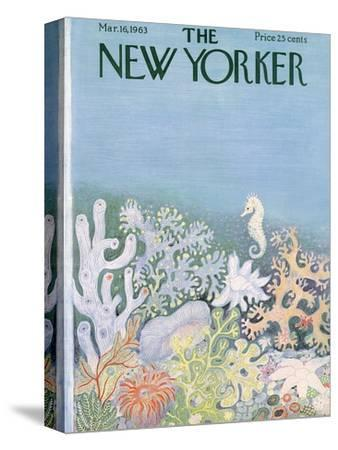 The New Yorker Cover - March 16, 1963