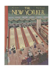 The New Yorker Cover - March 29, 1941 by Ilonka Karasz