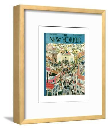 The New Yorker Cover - March 4, 1944