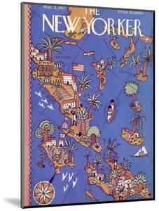 The New Yorker Cover - March 5, 1927 by Ilonka Karasz