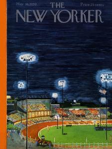 The New Yorker Cover - May 16, 1959 by Ilonka Karasz