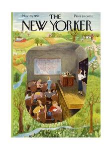 The New Yorker Cover - May 20, 1950 by Ilonka Karasz