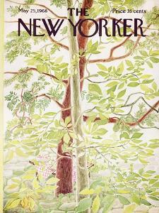 The New Yorker Cover - May 25, 1968 by Ilonka Karasz