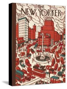 The New Yorker Cover - May 30, 1925 by Ilonka Karasz