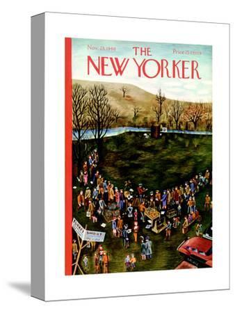 The New Yorker Cover - November 23, 1940