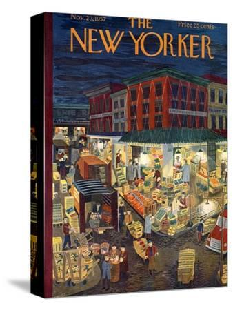 The New Yorker Cover - November 23, 1957