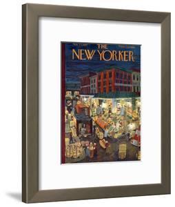 The New Yorker Cover - November 23, 1957 by Ilonka Karasz