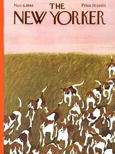 The New Yorker Cover - November 6, 1965 by Ilonka Karasz