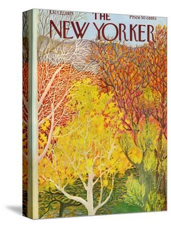 The New Yorker Cover - October 22, 1973