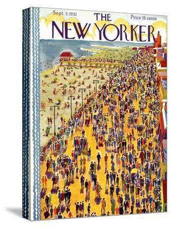 The New Yorker Cover - September 3, 1932