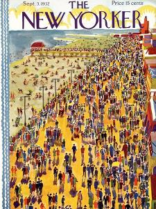 The New Yorker Cover - September 3, 1932 by Ilonka Karasz