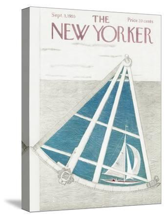 The New Yorker Cover - September 3, 1955